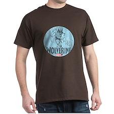 Blue Wolverine T-Shirt