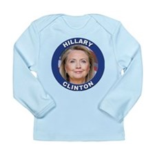 Hillary Clinton Long Sleeve Infant T-Shirt