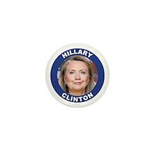 Hillary Clinton Mini Button