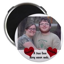 Personalize Picture Name True Love Magnet