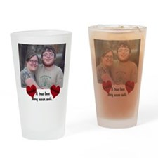 Personalize Picture Name True Love Drinking Glass