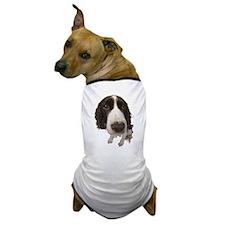Springer Spaniel Close-Up Dog T-Shirt