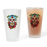 Skull Pint Glasses