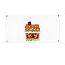 Gingerbread House Banner