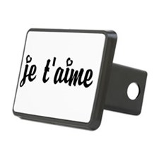 I Love You in French Hitch Cover