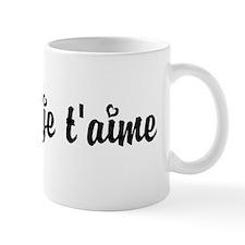 I Love You in French Mug
