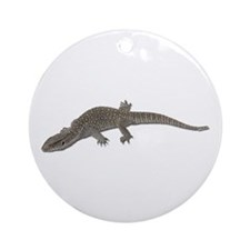 Monitor Lizard Ornament (Round)