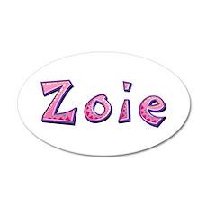 Zoie Pink Giraffe Wall Decal