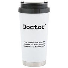 Funny Phd Travel Mug