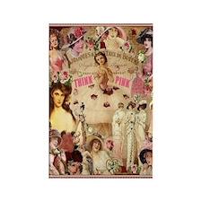 Pink Ladies Rectangle Magnet