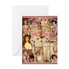 Pink Ladies Greeting Card