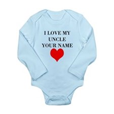 I Love My Uncle (Your Name) Body Suit