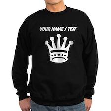 Custom Queen Chess Piece Sweatshirt