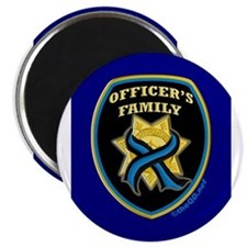 ThinBlueLine Officer's Family Magnets