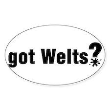 Got Paintball Welts Rectangle Decal