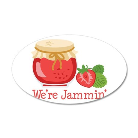 Were Jammin Wall Decal