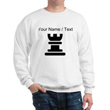 Custom Rook Chess Piece Sweatshirt