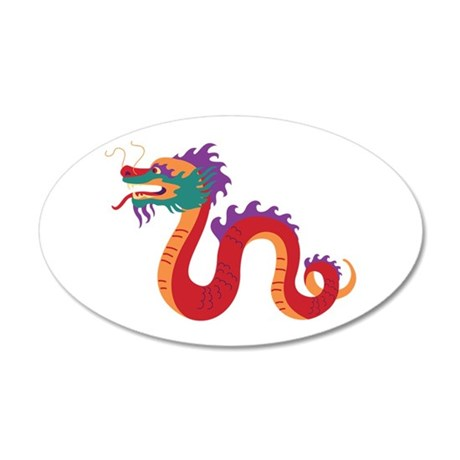Chinese New Year Dragon Wall Decal