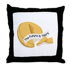 The Future is yours Throw Pillow