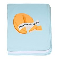 The Future is yours baby blanket