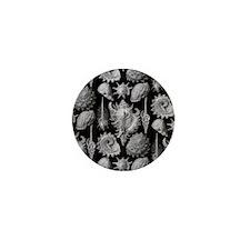 Haeckel Shell Sheet all over tee Mini Button