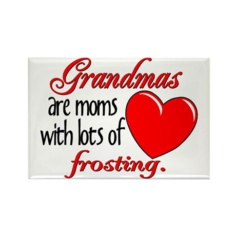 Grandma's Frosting Rectangle Magnet
