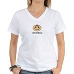 HAPPY MOTHER'S DAY Women's V-Neck T-Shirt