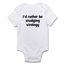Study virology Infant Bodysuit