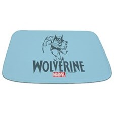 Blue Wolverine Bathmat