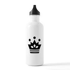 Queen Chess Piece Water Bottle