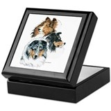 Sheltie Portraits Keepsake Box