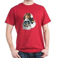 Sheltie Portraits T-Shirt
