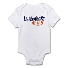 Volleyball Girl Infant Bodysuit