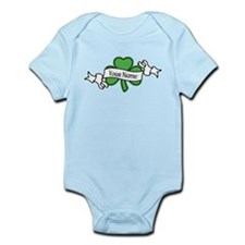 Shamrock CUSTOM TEXT Body Suit