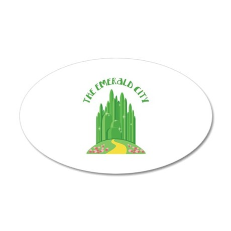 The Emerald City Wall Decal