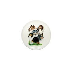 Sheltie Group Mini Button (100 pack)