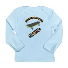 Skateboard - Skateboard Long Sleeve Infant T-Shirt