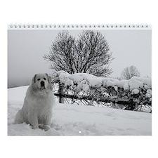 Great Pyrenees Wall Calendar