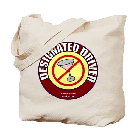Designated Driver t-shirt Tote Bag