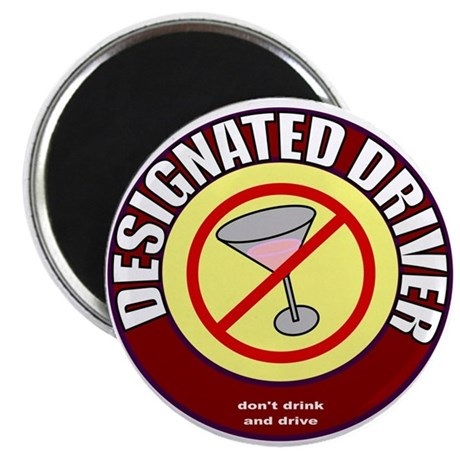 "Designated Driver t-shirt 2.25"" Magnet (100 pack)"