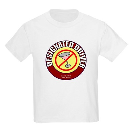 Designated Driver t-shirt Kids Light T-Shirt