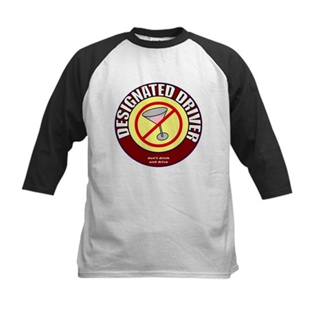 Designated Driver t-shirt Kids Baseball Jersey