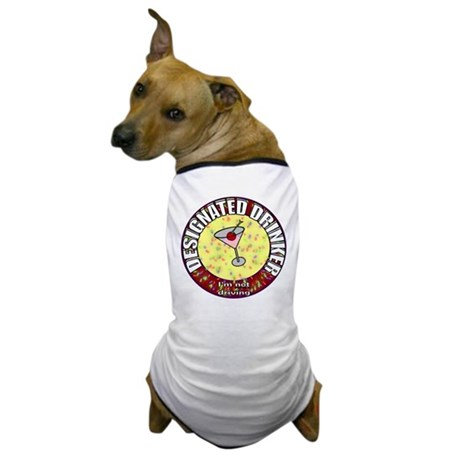 Designated Drinker t-shirt Dog T-Shirt