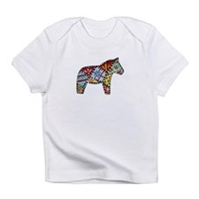 Right Facing Dala Horse Infant Infant T-Shirt