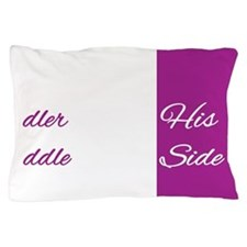 Toddler Middle Pillow Case
