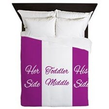 Toddler Middle Queen Duvet