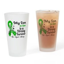 Son-in-Law Strong Survivor Drinking Glass