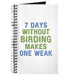 Without Birding One Weak Journal