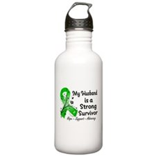 Husband Strong Surviv Water Bottle