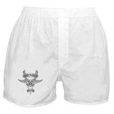 Chromed Winged V Boxer Shorts